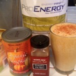 A Pumpkin Pie Protein Shake to Start Your Fall Day!